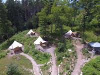 山梨県尾白キャンプ場フローラキャンプサイト