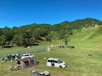 おじろスキー場「星の草原キャンプ場」
